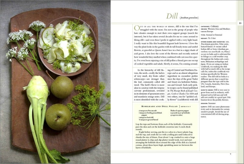 Dill page in The New American Herbal | PreparednessMama