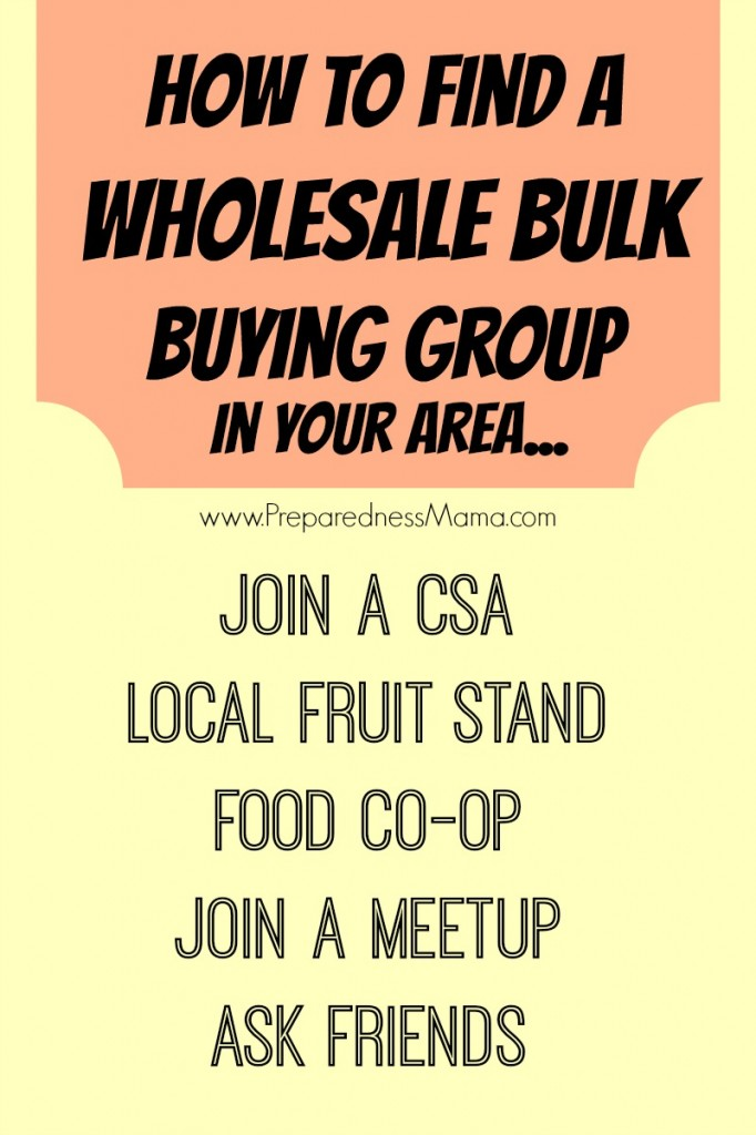 Wholesale Bulk Buying ideas | PreparednessMama
