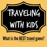 Travel Entertainment Kit: What is the best travel game? One that keeps their interest! Tips for creating a travel entertainment kit for the holidays | PreparednessMama