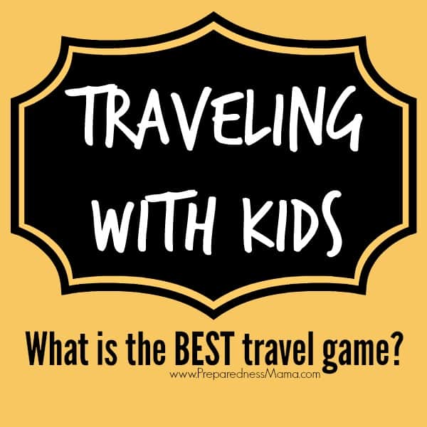 What is the best travel game? One that keeps their interest! Tips for creating a travel entertainment kit for the holidays | PreparednessMama