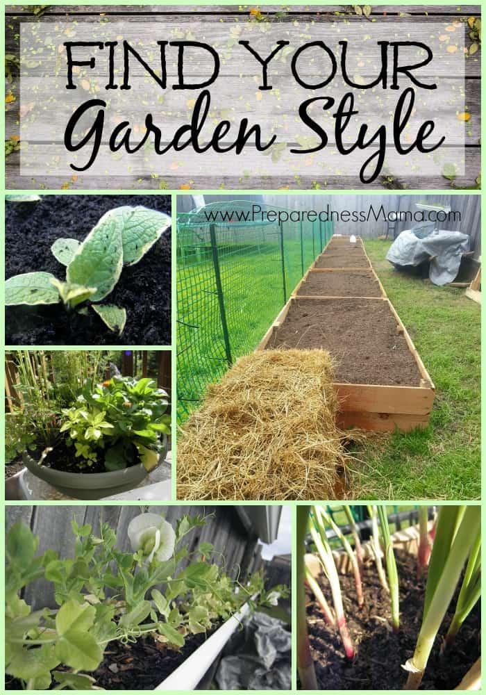 Find your gardening style | PreparednessMama