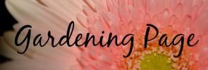 Gardening – Get Growing