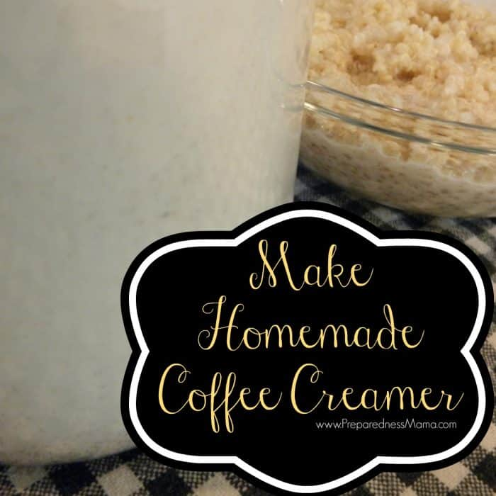 Make your own flavorful coffee creamer | PreparednessMama