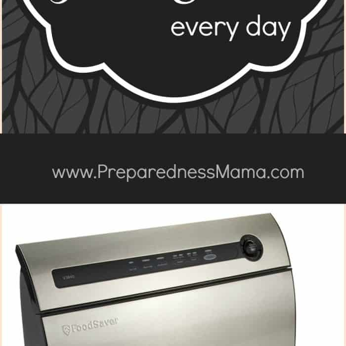 Using a foodsaver to freeze chicken preparednessmama foodsaver titanium vacuum sealer giveaway 5 ways to use a foodsaver every day plus enter to win one of your fandeluxe Image collections