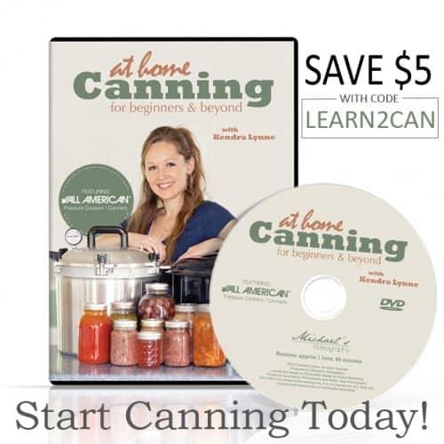 Home Canning DVD |PreparednessMama