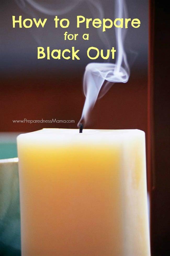 How to prepare for a blackout | PreparednessMama