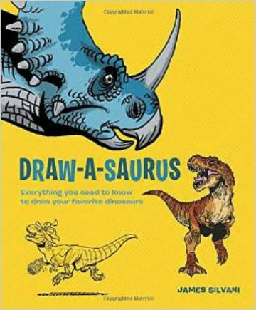 Do you have an artist in the house? Draw-a-Saurus is a fun book for kids | PreparednessMama
