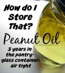 How to store peanut oil and 29 other common fats and oils | PreparednessMama