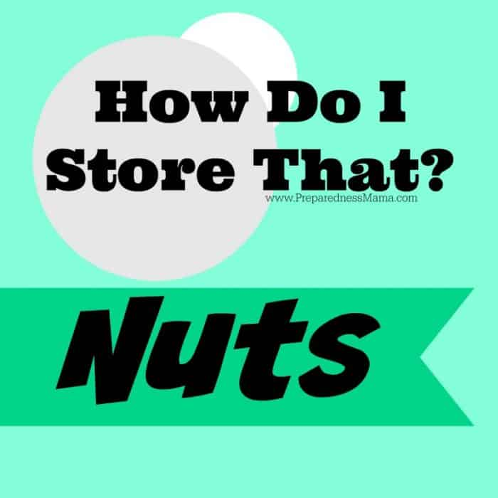 How Do I Store That? Nuts