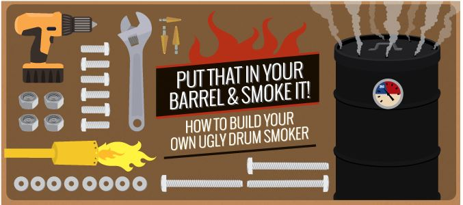 Make your own ugly drum smoker | PreparednessMama