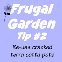 Frugal Gardening Tip #2 - 5 Ways to Reuse Broken Terracotta Pots | PreparednessMama