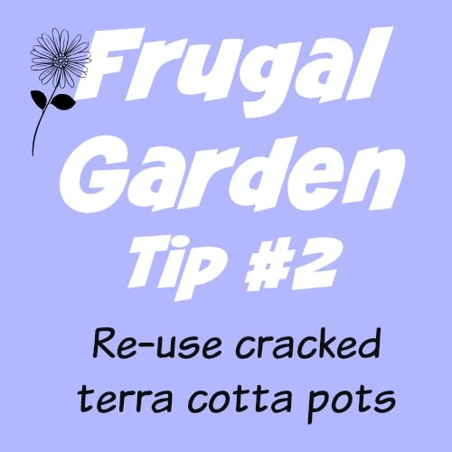 Frugal Gardening Tip #2 - 5 Ways to Reuse cracked Terra Cotta Pots | PreparednessMama