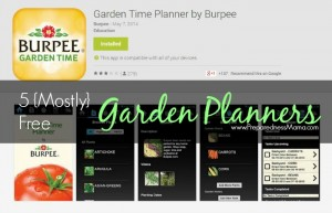 5 {Mostly} Free Vegetable Garden Planners to Try | PreparednessMama