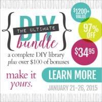 Tap into Creativity with the DIY Bundle | PreparednessMama