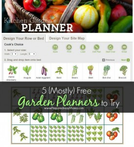5 {Mostly} Free Garden Planners to Try | PreparednessMama