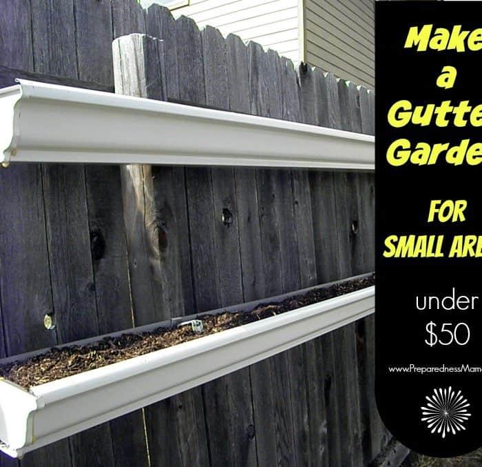 How to Build a Gutter Garden