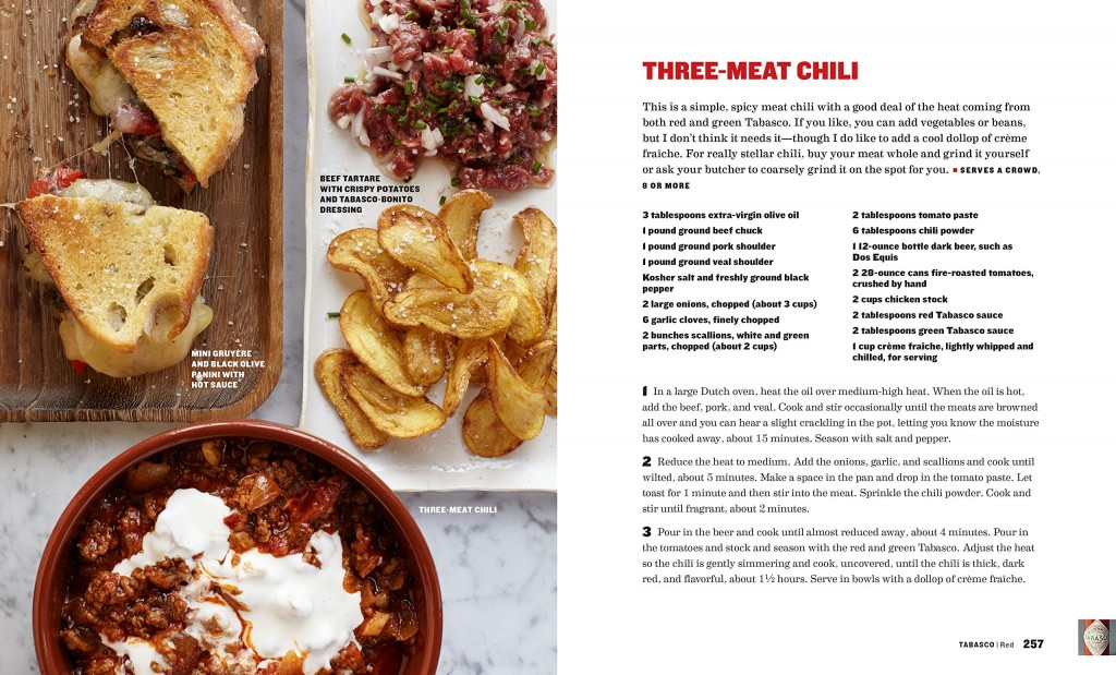 My Perfect Pantry - Tabasco Recipe, Thee Meat Chili | PreparednessMama