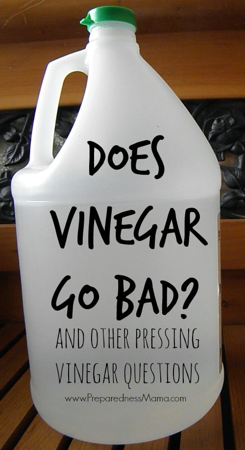 Does vinegar go bad? And other pressing vinegar questions | PreparednessMama