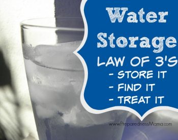 Did you know there are water storage rules? Know how to store it, find it and treat it | PreparednessMama