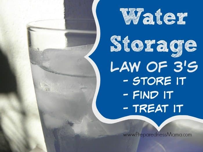 The Water Storage Law of 3's