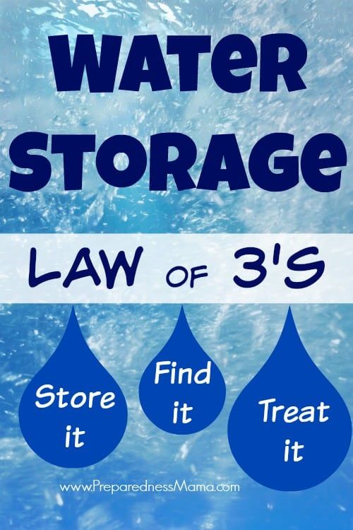 What! There are water storage rules? You bet...there is more to it than just buying a few water bottles | PreprednessMama