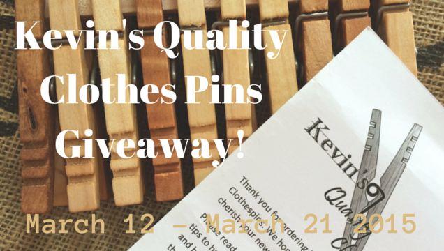 Kevins Quality Clothes Pins | PreparednessMama