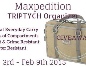 Win a Maxpedition Triptych Organizer | PreparednessMama