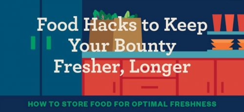 Food Hacks to Keep Food Fresh | PreparednessMama