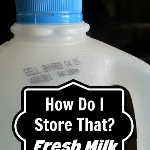 Tips to store fresh milk in the freezer | PreparednessMama