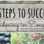 8 Steps to Garden Success in Zone 8b