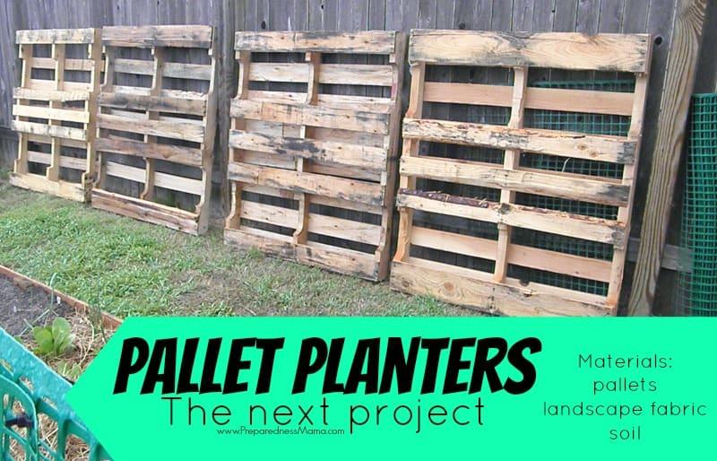 Next up: Pallet Planters | PreparednessMama