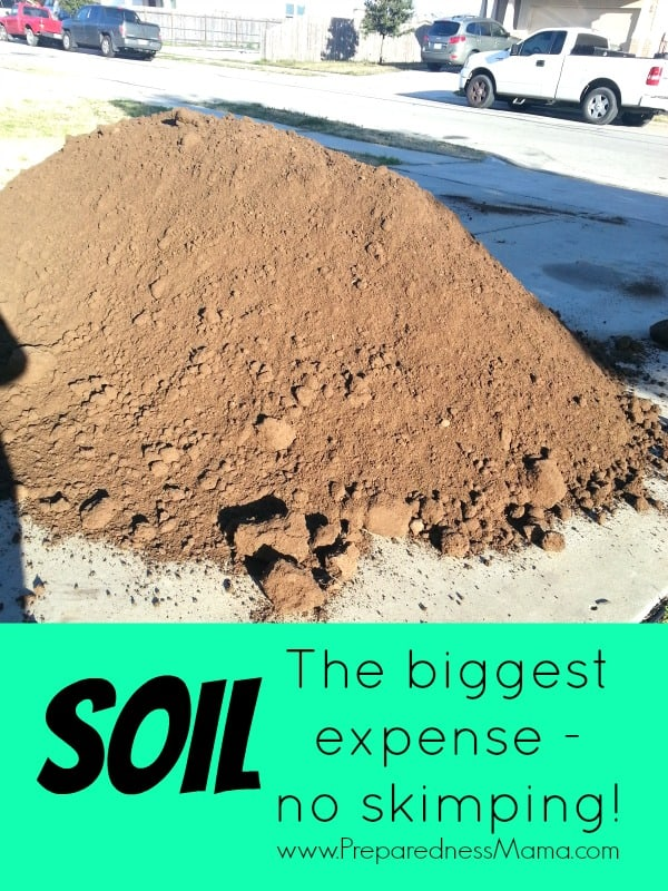 Don't skimp on soil quality when creating raised beds | PreparednessMama