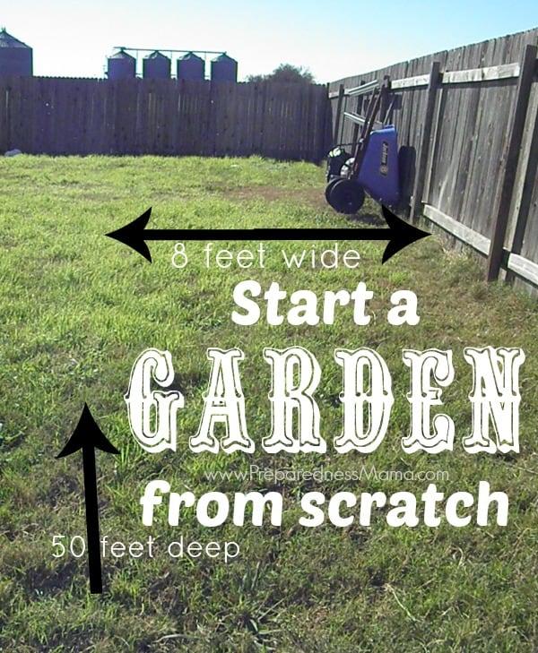 Merveilleux Start A Garden From Scratch. Iu0027 Have An Area 8x50u0027 To Work With