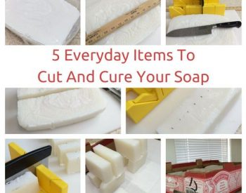 5 Everyday Items for Cutting and Curing Soap