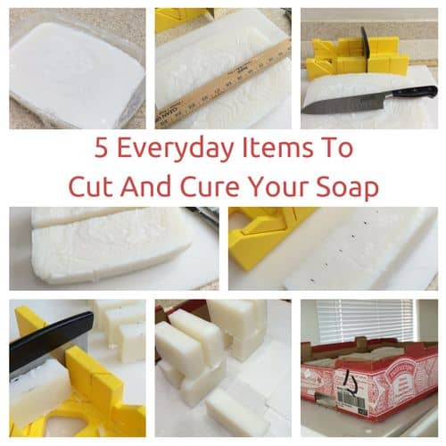 5 everyday items you can use for cutting and curing soap | PreparednessMama