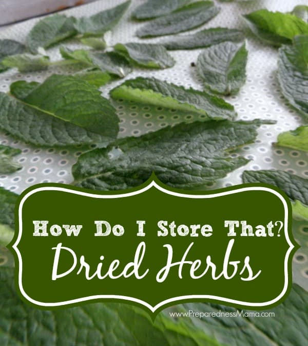 Lay herbs on drying screens  | PreparednessMama