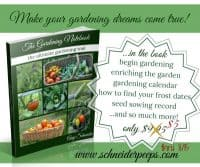 The Gardening Notebook is on sale this month | PreparednessMama