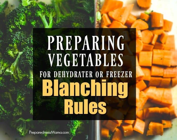 How to Blanch Vegetables: Prep Your Veggies for Dehydration and Freezing