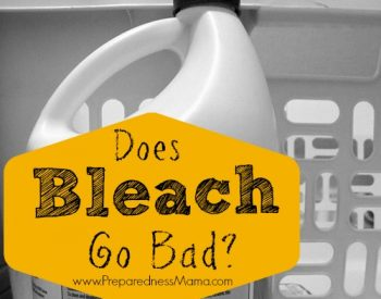 Does bleach go bad? The shelf life of bleach and pool shock - plus how to disinfect water | PreparednessMama