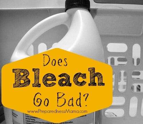 Does Bleach Go Bad?