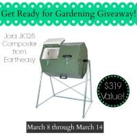 What can you compost? Eartheasy Giveaway Jora JK125 Composter| PreparednessMama