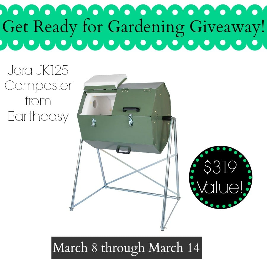 Eartheasy Giveaway Jora JK125 Composter | PreparednessMama