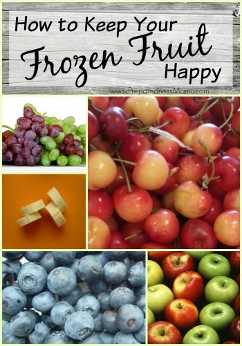 How to keep your frozen fruit happy : The do's and don't of freezing fruit | PreparednessMama