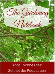 Review: The Gardening Notebook from Schneider Peeps | PreparednessMama