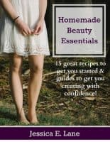 Review: Homemade Beauty Essentials by Jessica Lane |PreparednessMama
