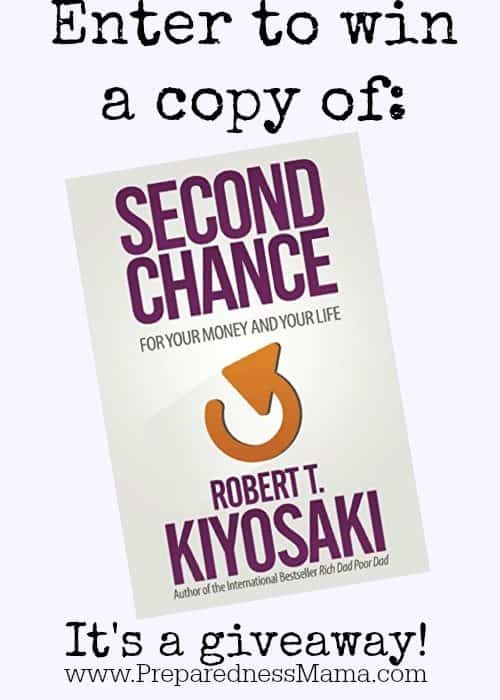 Giveaway: Second Chance by Robert Kiyosaki