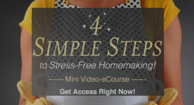 Are You a Stressed Out Homemaker?