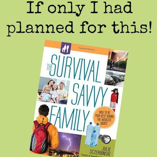 Review: The Survival Savvy Family by Julie Sczerbinski | PreparednessMama