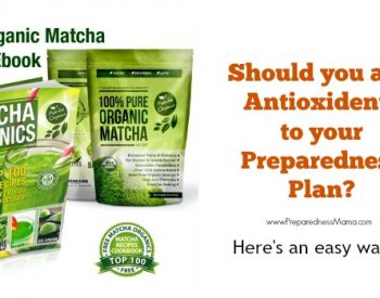 Add Matcha Organics to your preparedness Plan | PreparednessMama