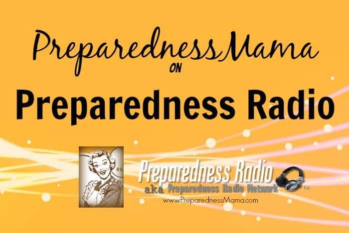 PreparednessMama on Preparedness Radio